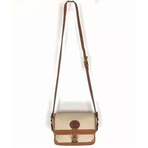 Vintage Dooney & Bourke Flap Crossbody Bag